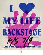 Todd Rundgren Backstage Pass