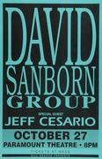 David Sanborn Group Poster