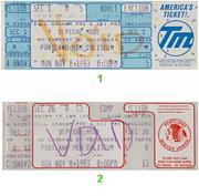 Depeche Mode Vintage Ticket