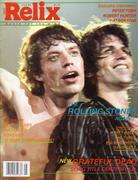 Relix Magazine October 1981 Magazine