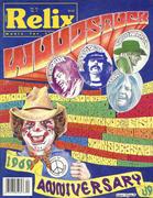 Relix Magazine August 1989 Magazine