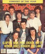 Rolling Stone Magazine January 19, 1984 Magazine