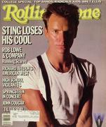 Rolling Stone Magazine September 26, 1985 Magazine