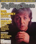 Rolling Stone Magazine September 11, 1986 Magazine