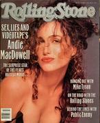 Rolling Stone Magazine October 19, 1989 Magazine