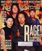 Rolling Stone Magazine November 25, 1999 Magazine