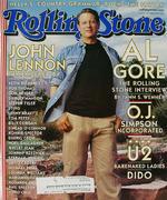 Rolling Stone Magazine November 9, 2000 Magazine