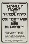 Stanley Clarke & School Days Poster
