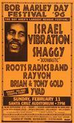 Bob Marley Day Festival Poster