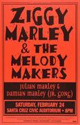 Ziggy Marley & the Melody Makers Poster