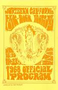 Northern California Folk-Rock Festival Program