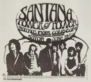 Santana Handbill