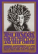 Jimi Hendrix Experience Postcard