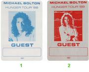 Michael Bolton Backstage Pass