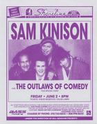 Sam Kinison Handbill