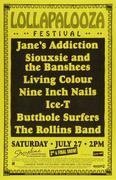 Lollapalooza Festival Poster