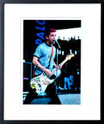 Billie Joe Armstrong Framed Fine Art Print