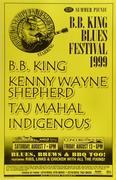 B.B. King Blues Festival Poster