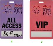 Alice's Now and Zen Festival Laminate