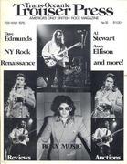 Trouser Press Magazine February 1976 Magazine