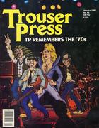 Trouser Press Magazine January 1980 Vintage Magazine