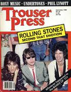 Trouser Press Magazine September 1980 Magazine