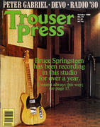 Trouser Press Magazine October 1980 Magazine