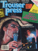 Trouser Press Magazine October 1981 Magazine