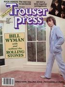 Trouser Press Magazine December 1981 Vintage Magazine