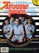 Trouser Press Magazine February 1982 Magazine