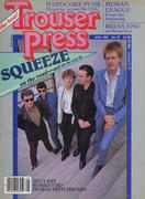 Trouser Press Magazine August 1982 Magazine