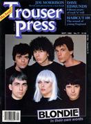 Trouser Press Magazine September 1982 Magazine