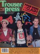 Trouser Press Magazine April 1983 Vintage Magazine