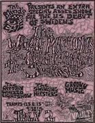 The Wylde Mammoths Handbill