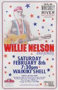 Willie Nelson and Family Handbill