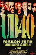 UB40 Handbill