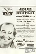 Jimmy Buffett Handbill