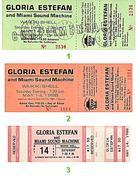 Gloria Estefan Vintage Ticket