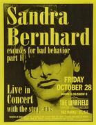 Sandra Bernhard Handbill