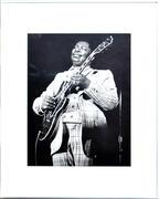 B.B. King Framed Fine Art Print