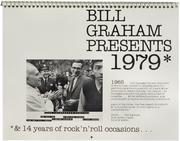Bill Graham Presents Calendar