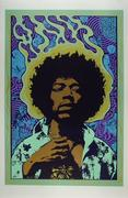 Jimi Hendrix Serigraph