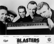 The Blasters Promo Print
