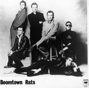 Boomtown Rats Promo Print