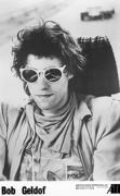 Bob Geldof Promo Print