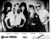 Great White Promo Print
