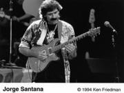 Jorge Santana Promo Print