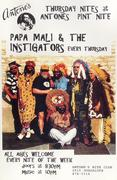 Papa Mali & the Instigators Poster