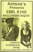 Earl King Poster