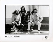 Black Sabbath Promo Print